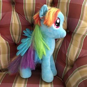 NWT Large TY Sparkle Rainbow Dash Pony
